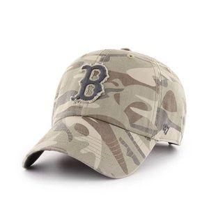 Boston Red Sox camo hat